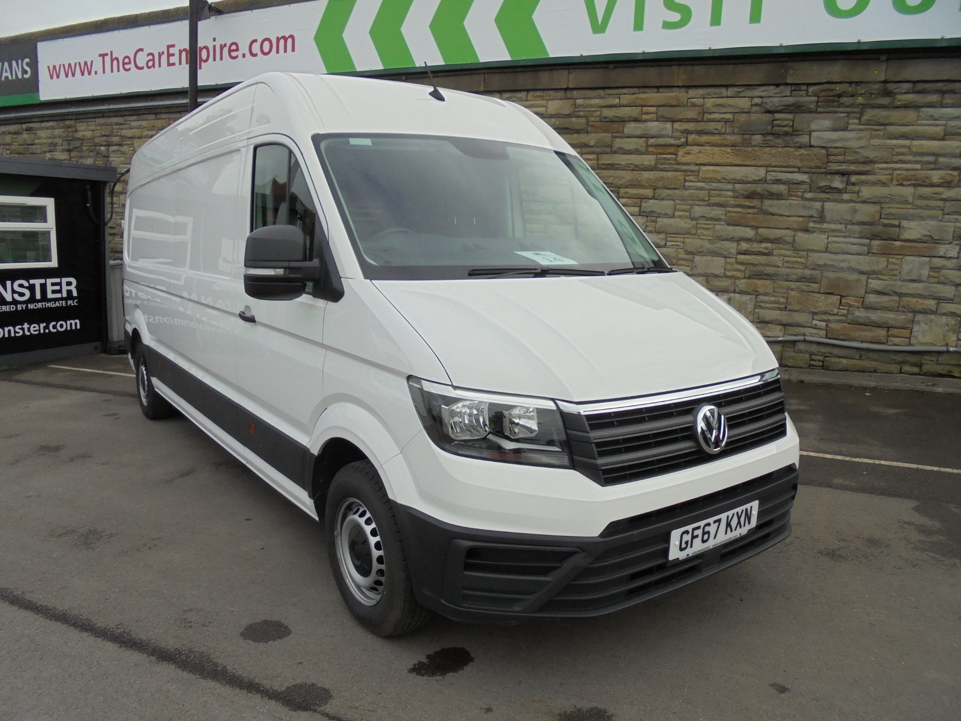 2017 Volkswagen Crafter CR35 LWB HIGH ROOF 140PS STARTLINE EURO 6  (GF67KXN)