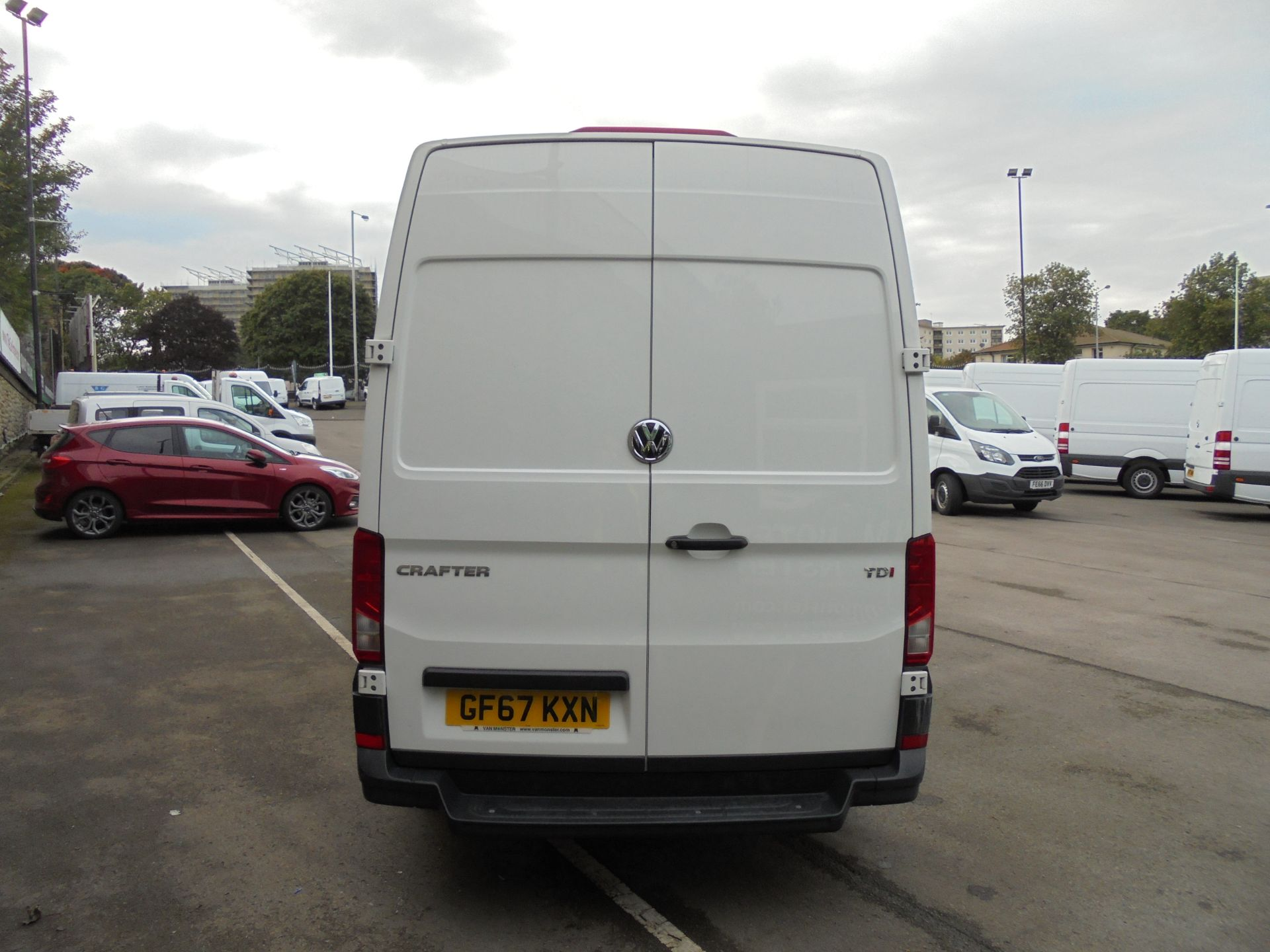 2017 Volkswagen Crafter 2.0 Tdi 140Ps Startline High Roof Van (GF67KXN) Thumbnail 6