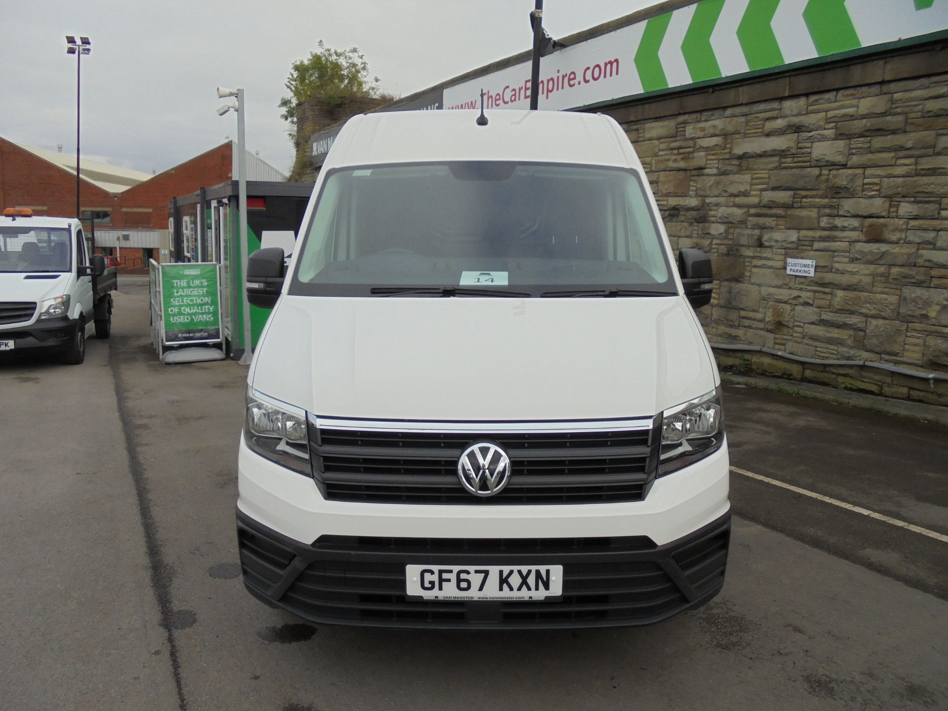 2017 Volkswagen Crafter 2.0 Tdi 140Ps Startline High Roof Van (GF67KXN) Thumbnail 2