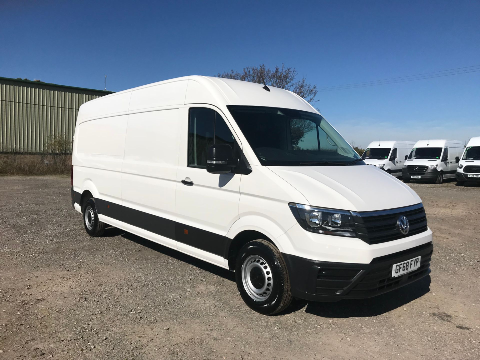 2018 Volkswagen Crafter 2.0 Tdi 140Ps Startline High Roof Van (GF68FYP)