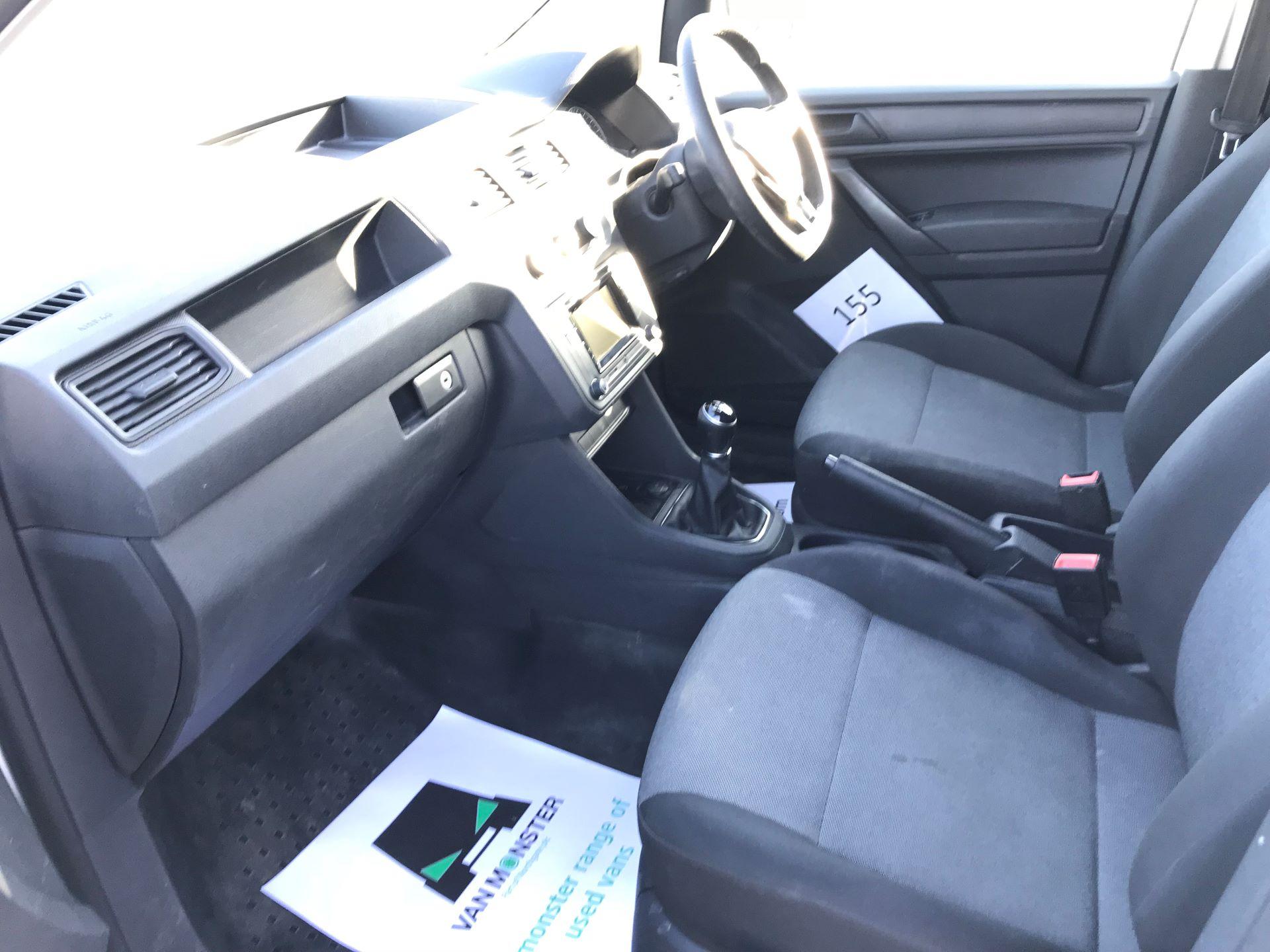 2018 Volkswagen Caddy 2.0 Tdi Bluemotion Tech 102Ps Trendline [Ac] Van (GF68FZK) Image 21
