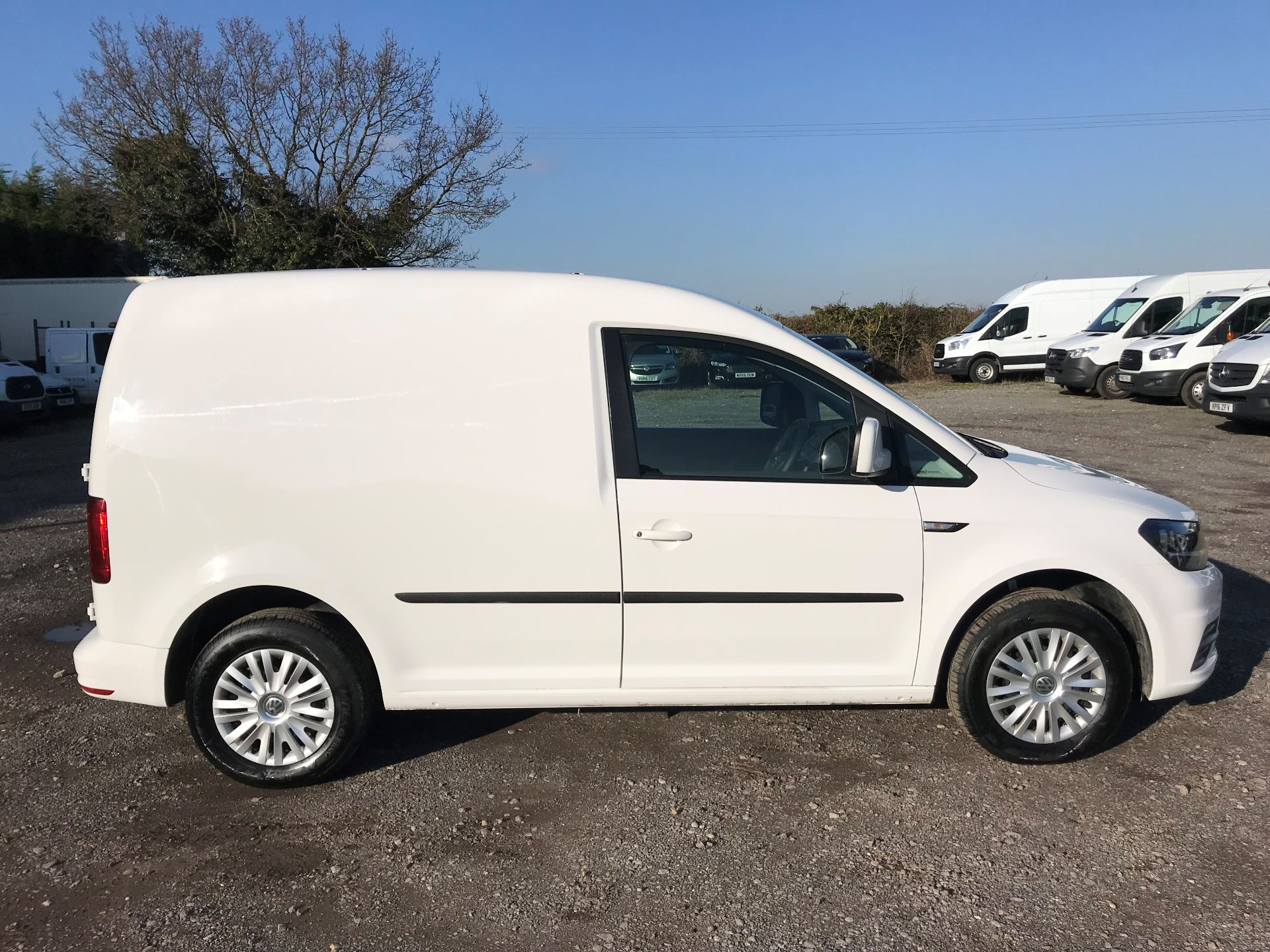 2018 Volkswagen Caddy 2.0 Tdi Bluemotion Tech 102Ps Trendline [Ac] Van (GF68FZK) Image 9