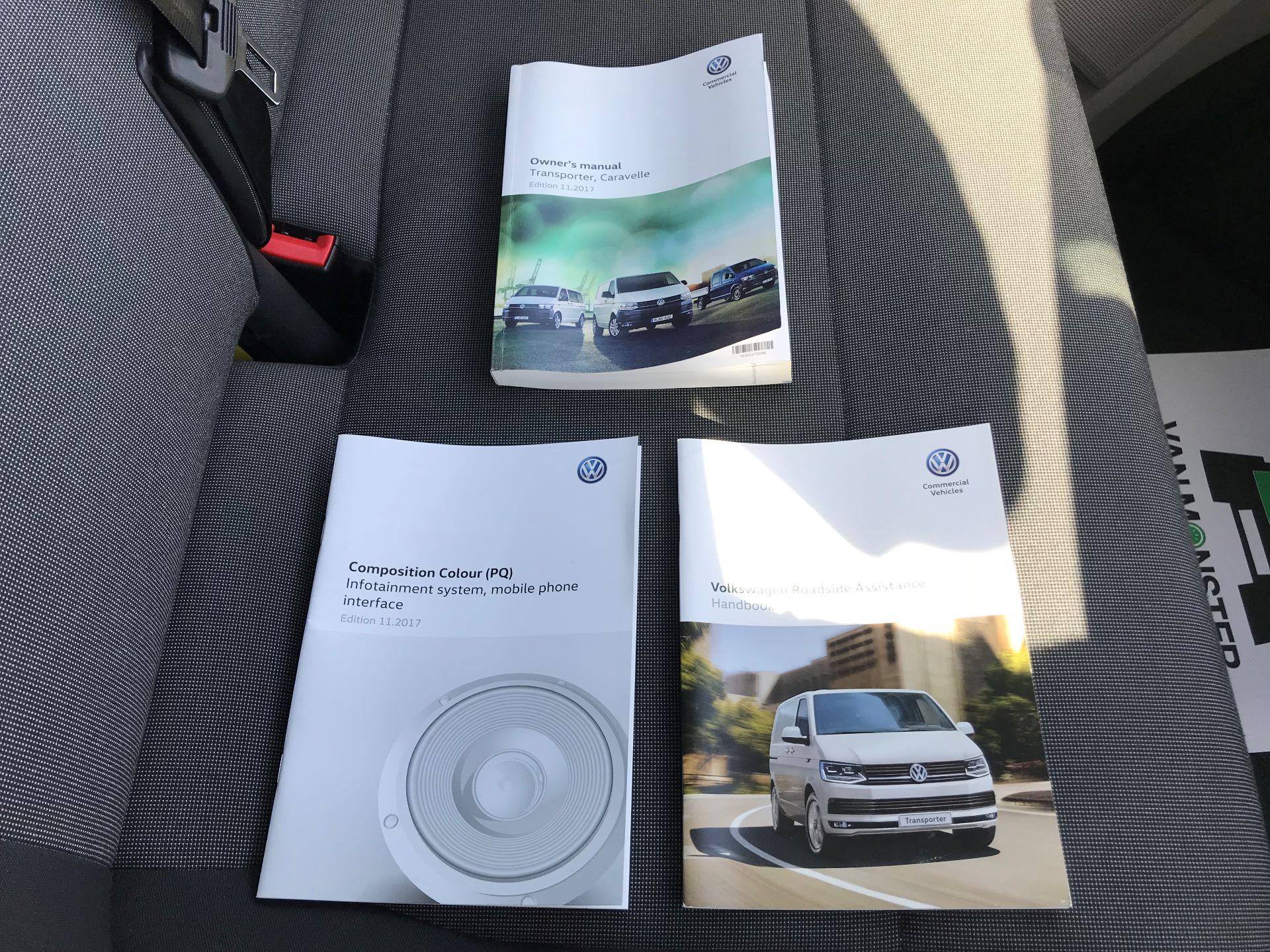 2018 Volkswagen Transporter  T30 LWB DIESEL 2.0 TDI BMT 102 Startline VAN EURO 6 (GF68HKJ) Image 30