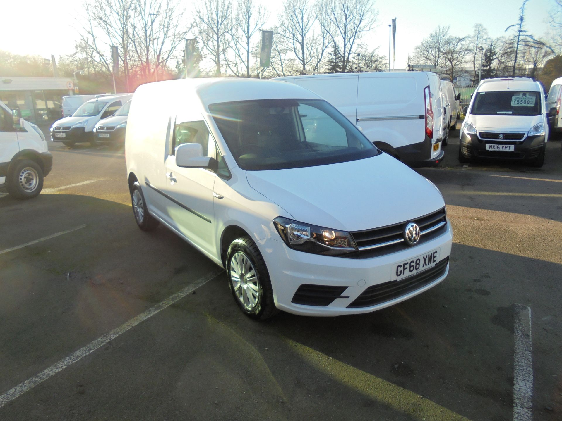 2018 Volkswagen Caddy 2.0 Tdi Bluemotion Tech 102Ps Trendline [Ac] Van (GF68XWE)