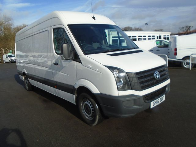 2016 Volkswagen Crafter CR35 LWB 2.0 TDI 136ps High Roof Van (GH16BUF)