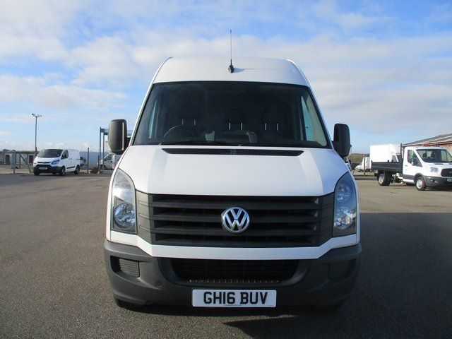 2016 Volkswagen Crafter CR35 LWB 2.0 TDI 136PS HIGH ROOF STARTLINE VAN  (GH16BUV) Image 2