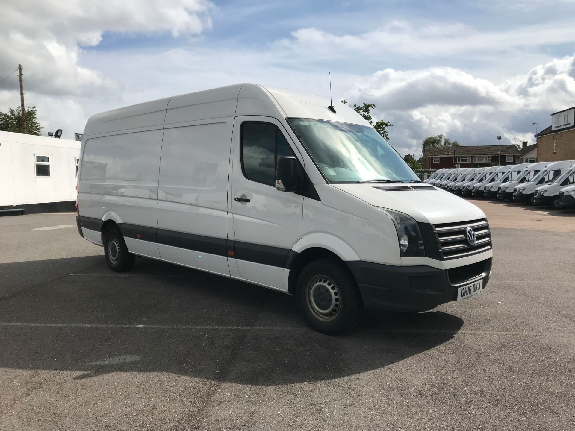 2016 Volkswagen Crafter   CR35 LWB 2.0 TDI 136PS H/R EURO 5 (GH16DKJ)