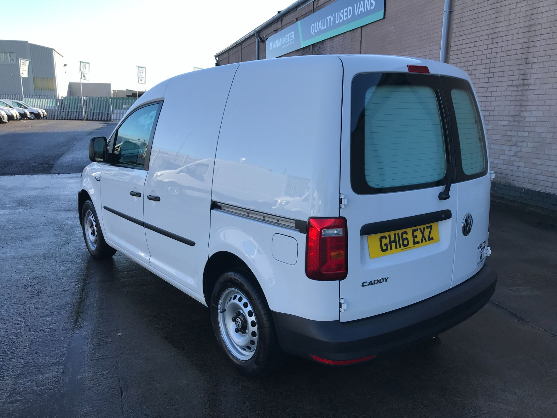 2016 Volkswagen Caddy 2.0TDI BLUEMOTION TECH 102PS STARTLINE EURO 6, NO VAT  (GH16EXZ) Image 12