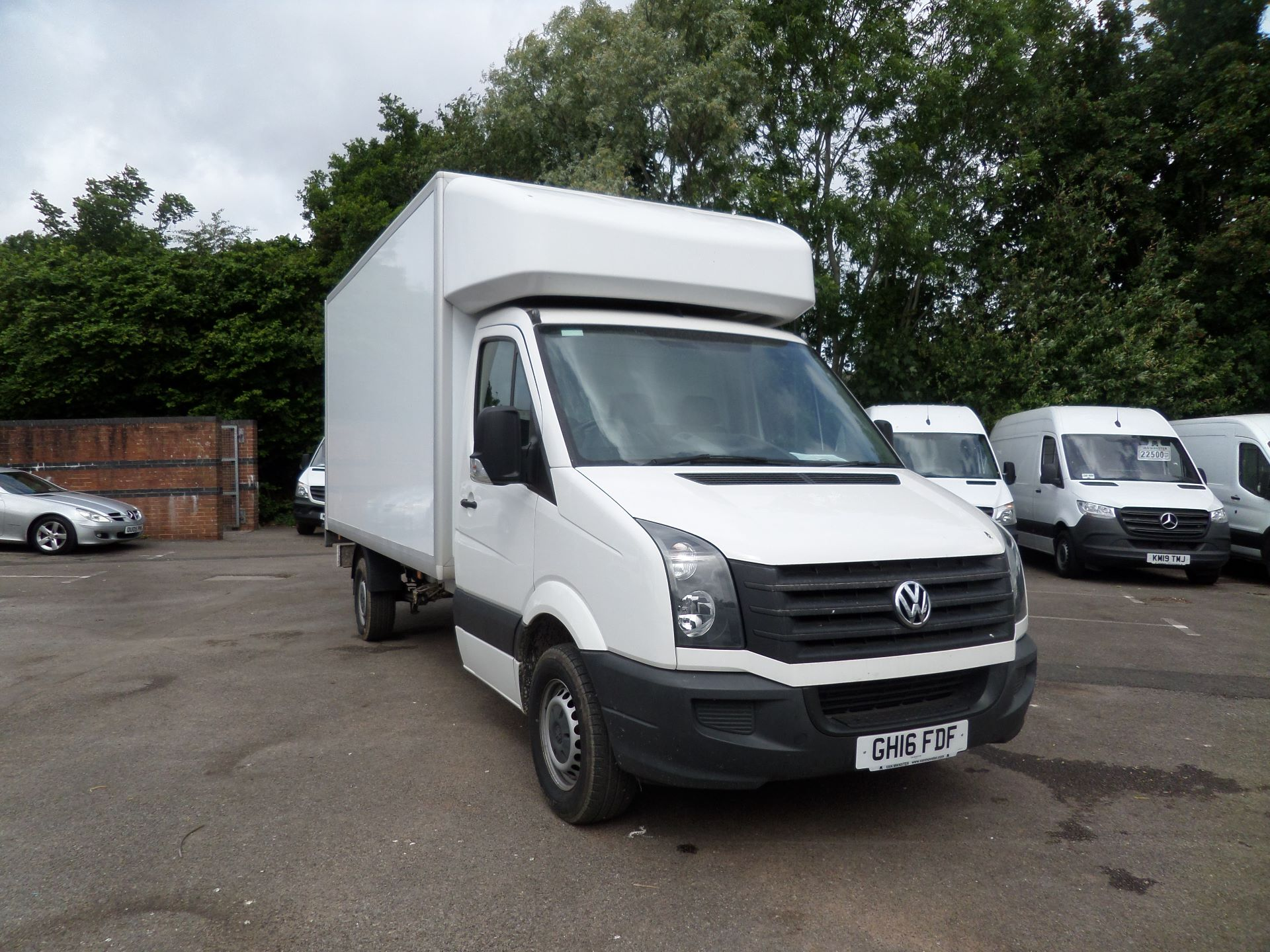 2016 Volkswagen Crafter 2.0 Tdi 136Ps Luton Tail Lift (GH16FDF)