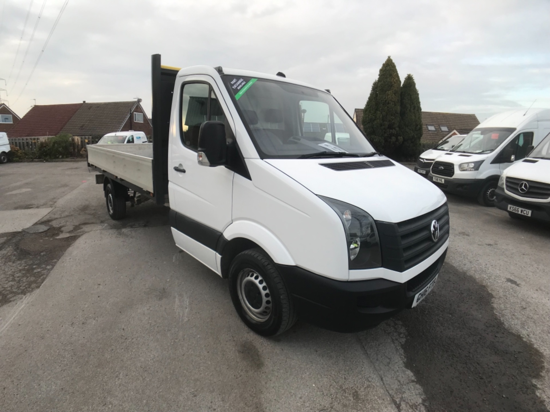 2016 Volkswagen Crafter  CR35 LWB DIESEL 2.0 TDI 136PS DROP SIDE EURO 5 (GH16FTO)