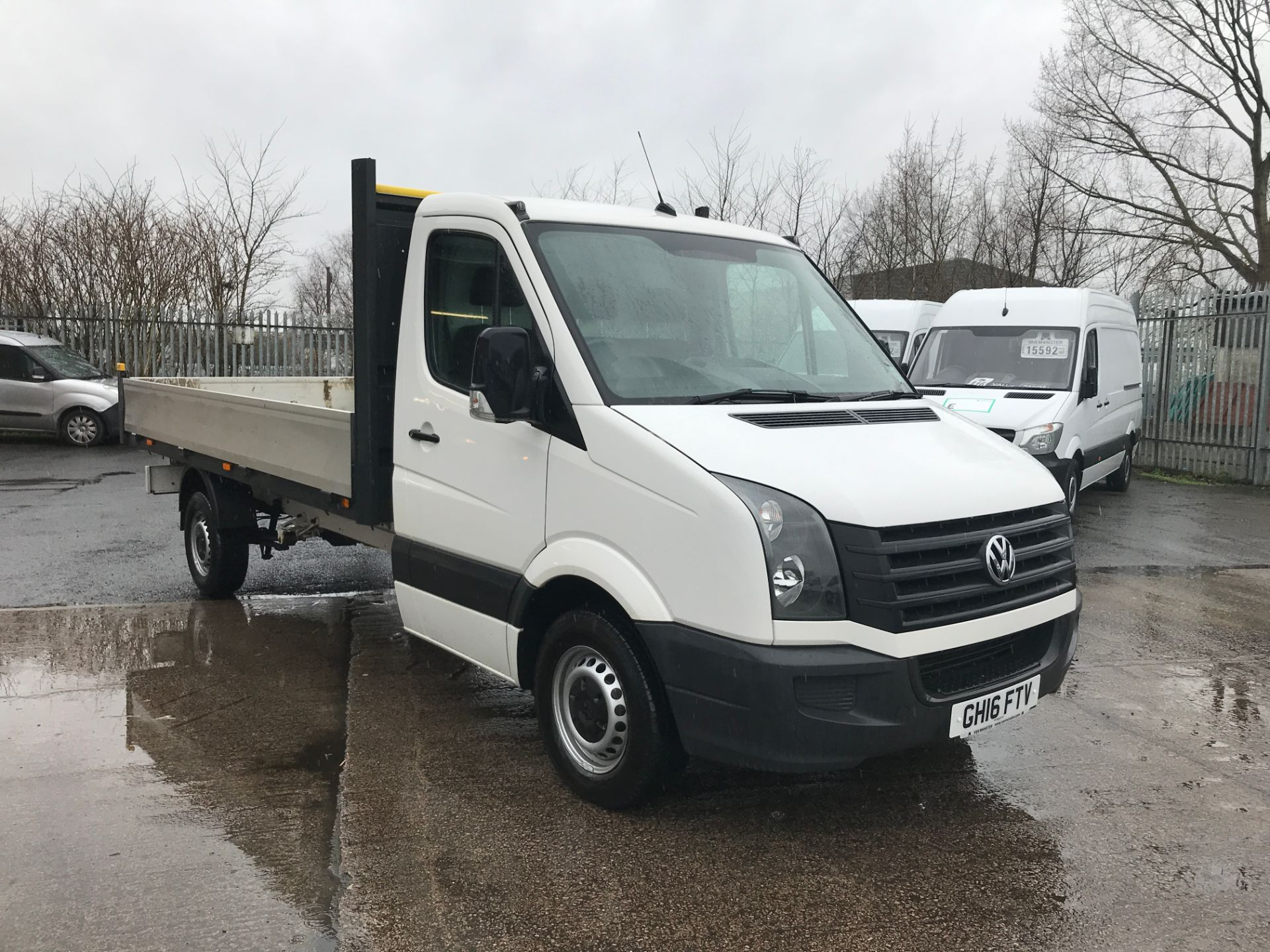 2016 Volkswagen Crafter  CR35 13FT DROPSIDE 2.0TDI 136PS EURO 5 (GH16FTV)