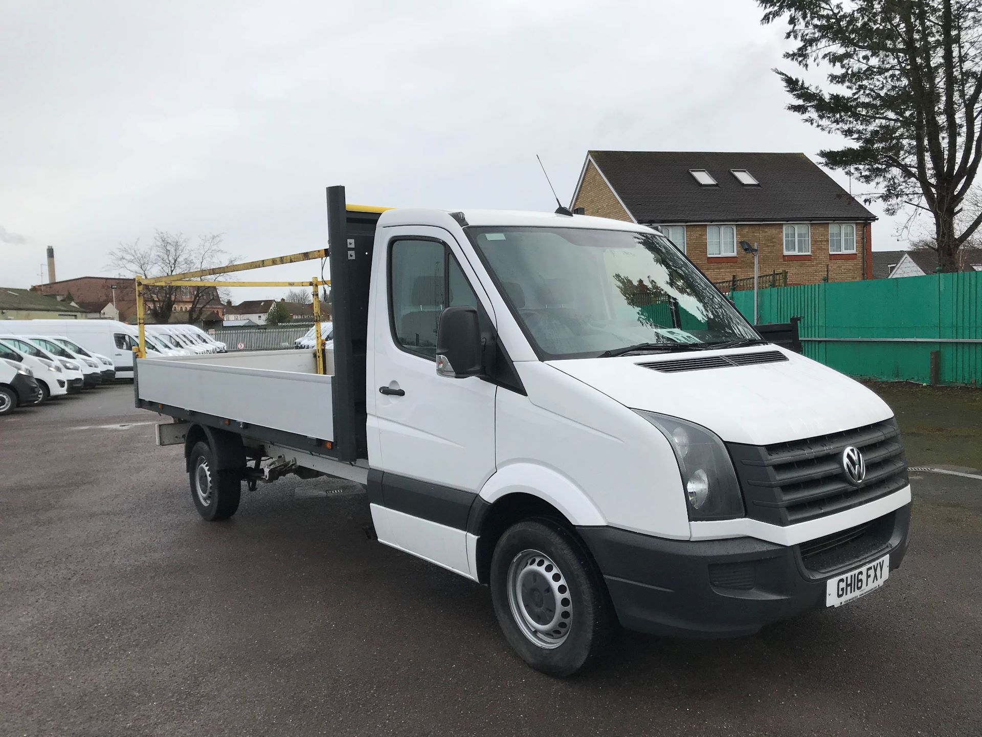 2016 Volkswagen Crafter  CR35 LWB 2.0 TDI 130PS DROPSIDE EURO 5 (GH16FXY)