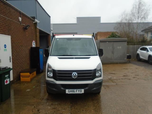 2016 Volkswagen Crafter 2.0 Tdi 136Ps Chassis Cab EURO 5 (GH16FYD) Image 3