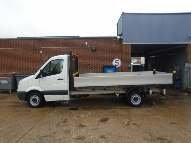 2016 Volkswagen Crafter 2.0 Tdi 136Ps Chassis Cab EURO 5 (GH16FYD) Image 5