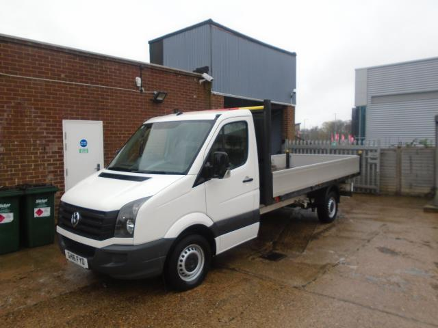 2016 Volkswagen Crafter 2.0 Tdi 136Ps Chassis Cab EURO 5 (GH16FYD) Image 4