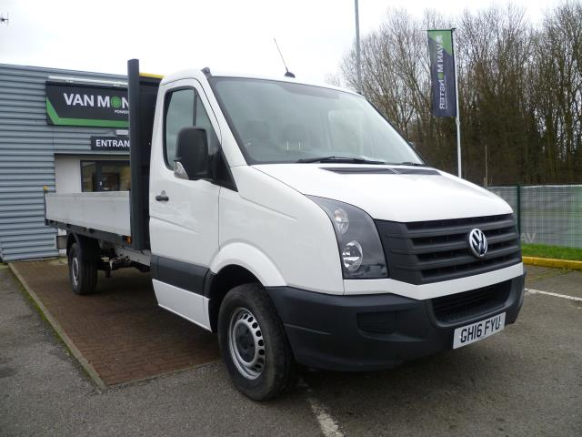 2016 Volkswagen Crafter 2.0 Tdi 136Ps Dropside (GH16FYU)