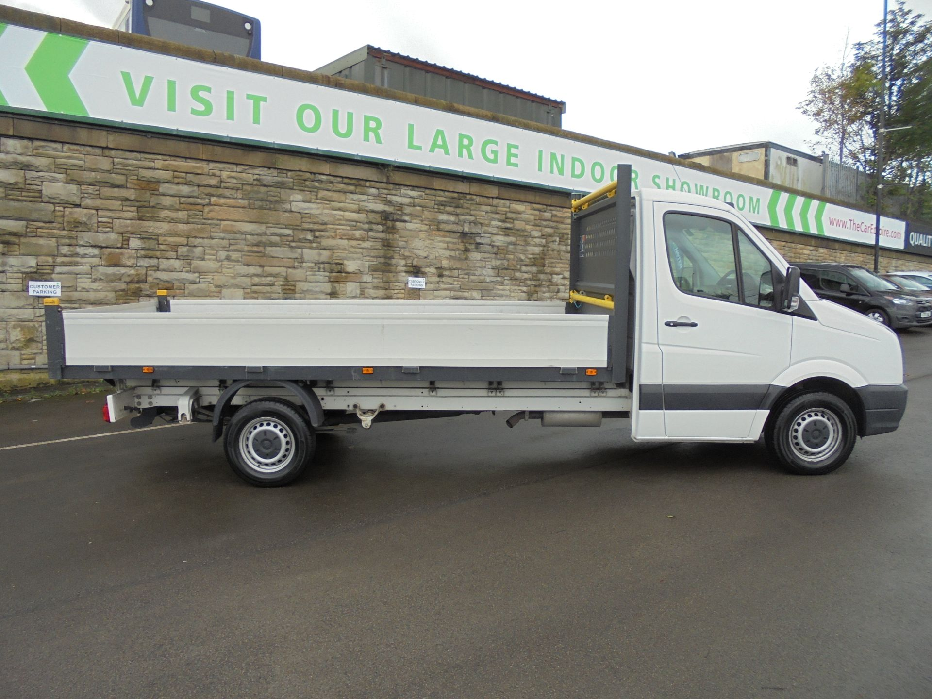 2016 Volkswagen Crafter 2.0 Tdi 136Ps Dropside (GH16FZP) Image 8