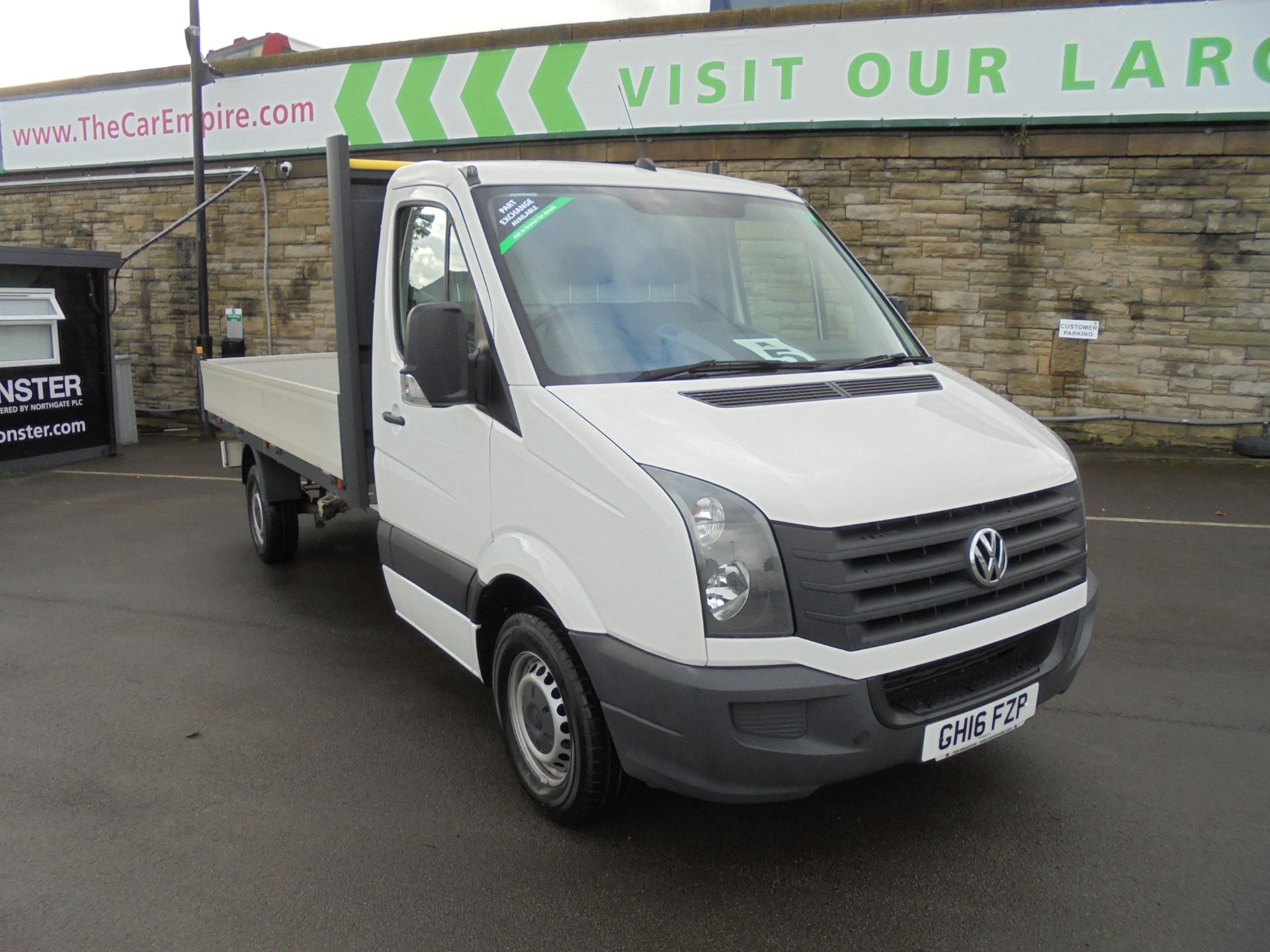 2016 Volkswagen Crafter 2.0 Tdi 136Ps Dropside (GH16FZP)