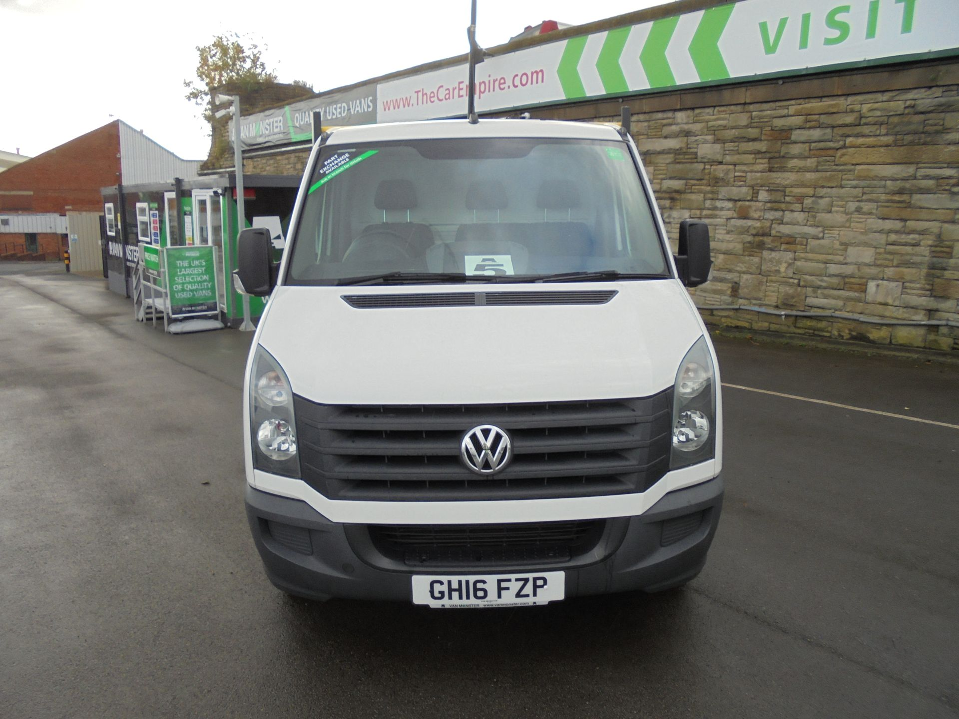 2016 Volkswagen Crafter 2.0 Tdi 136Ps Dropside (GH16FZP) Image 2