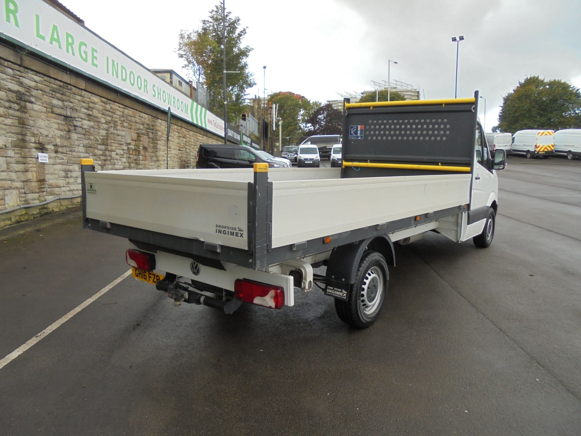 2016 Volkswagen Crafter 2.0 Tdi 136Ps Dropside (GH16FZP) Image 7