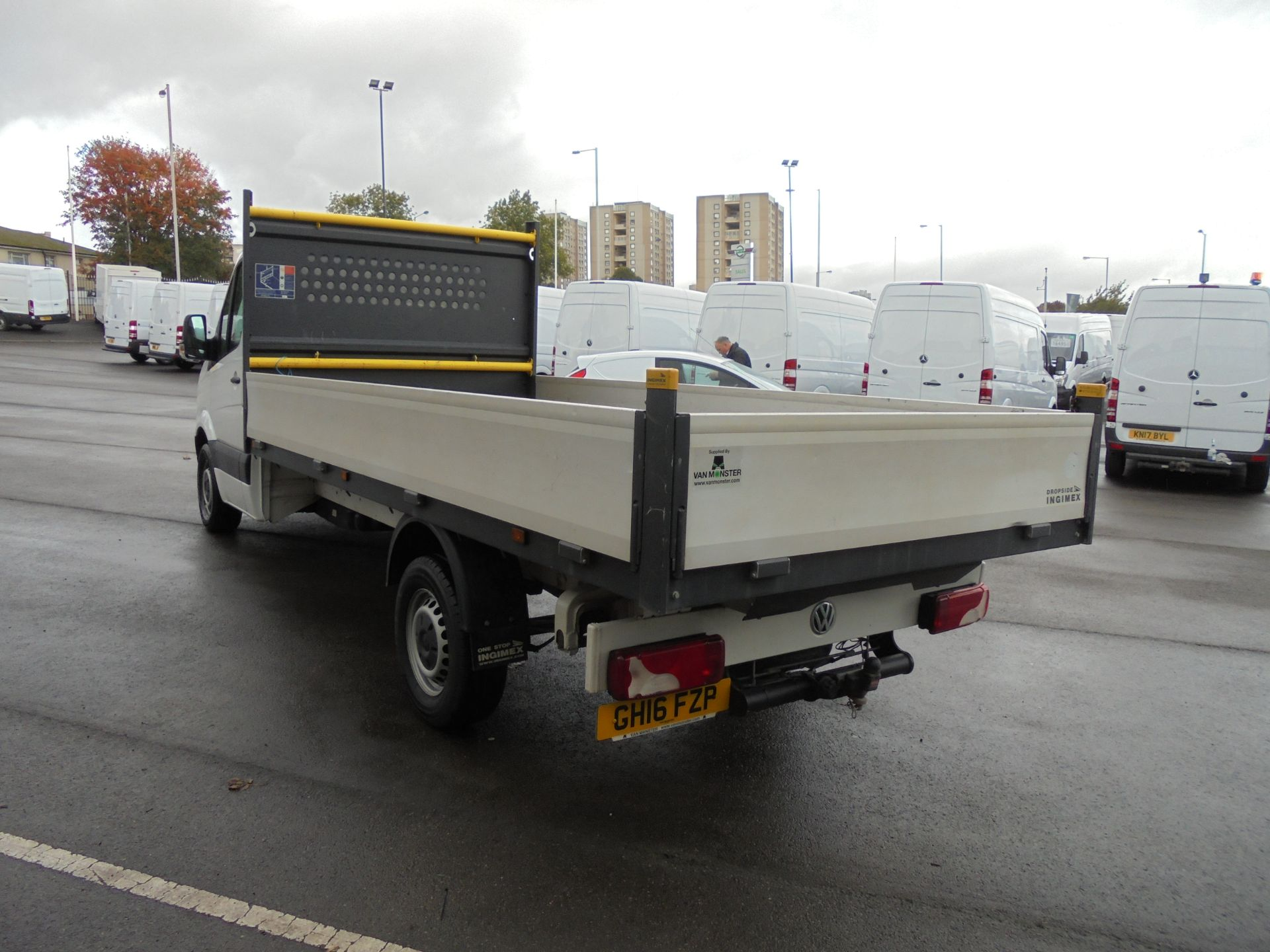 2016 Volkswagen Crafter 2.0 Tdi 136Ps Dropside (GH16FZP) Image 5