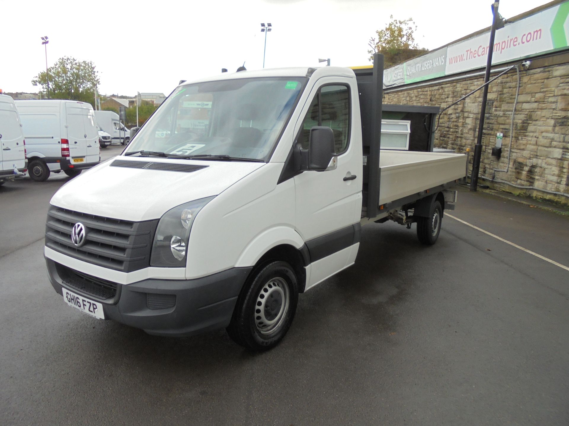 2016 Volkswagen Crafter 2.0 Tdi 136Ps Dropside (GH16FZP) Image 3
