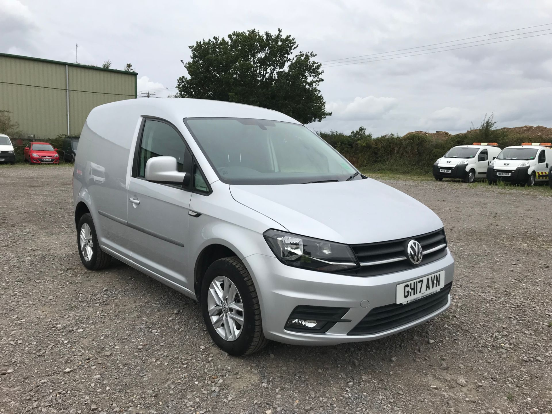 2017 Volkswagen Caddy 2.0TDI BLUEMOTION TECH 102PS HIGHLINE  (GH17AVN)