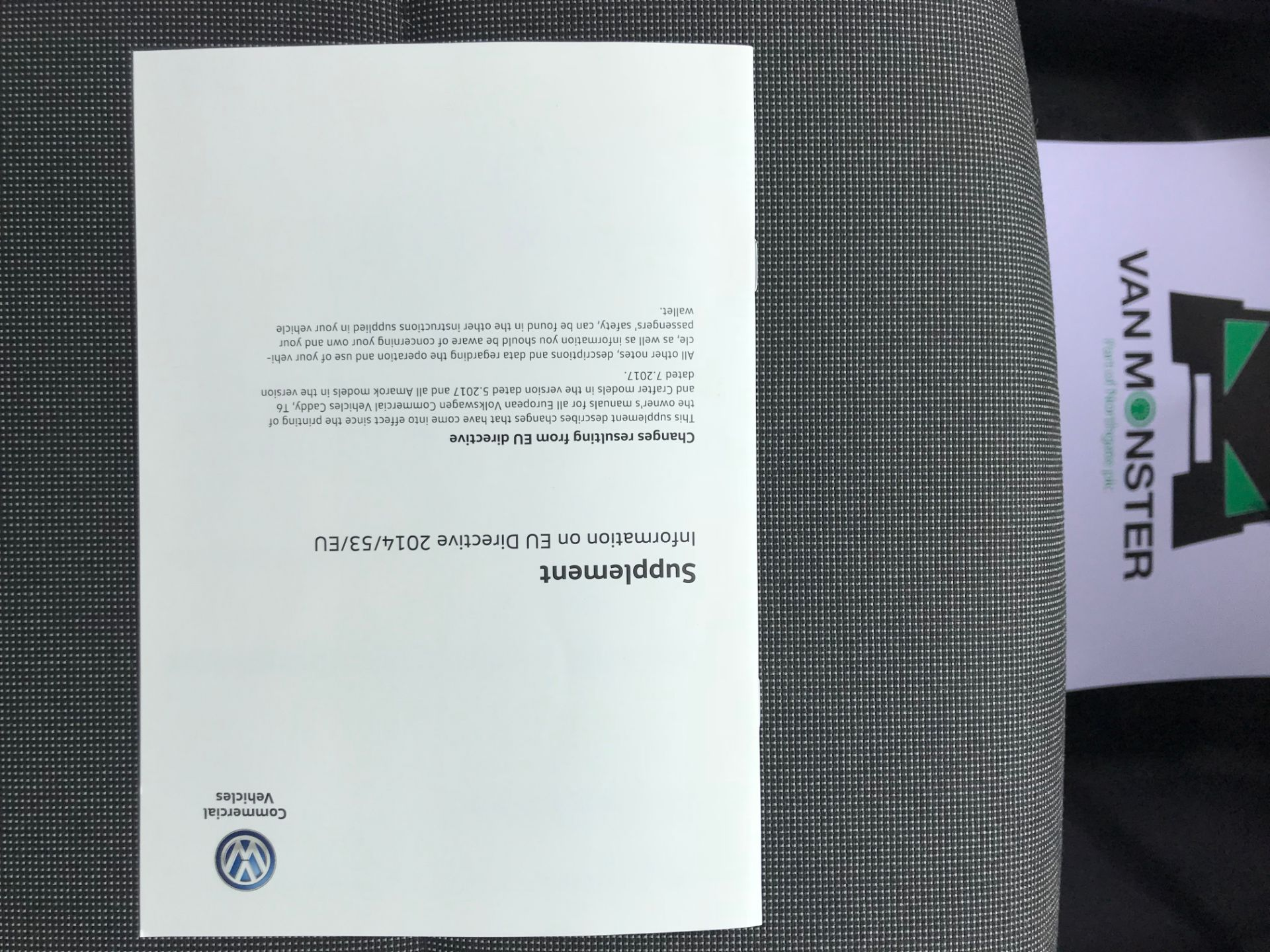 2017 Volkswagen Caddy 2.0TDI BLUEMOTION TECH 102PS HIGHLINE  (GH17AVN) Image 44