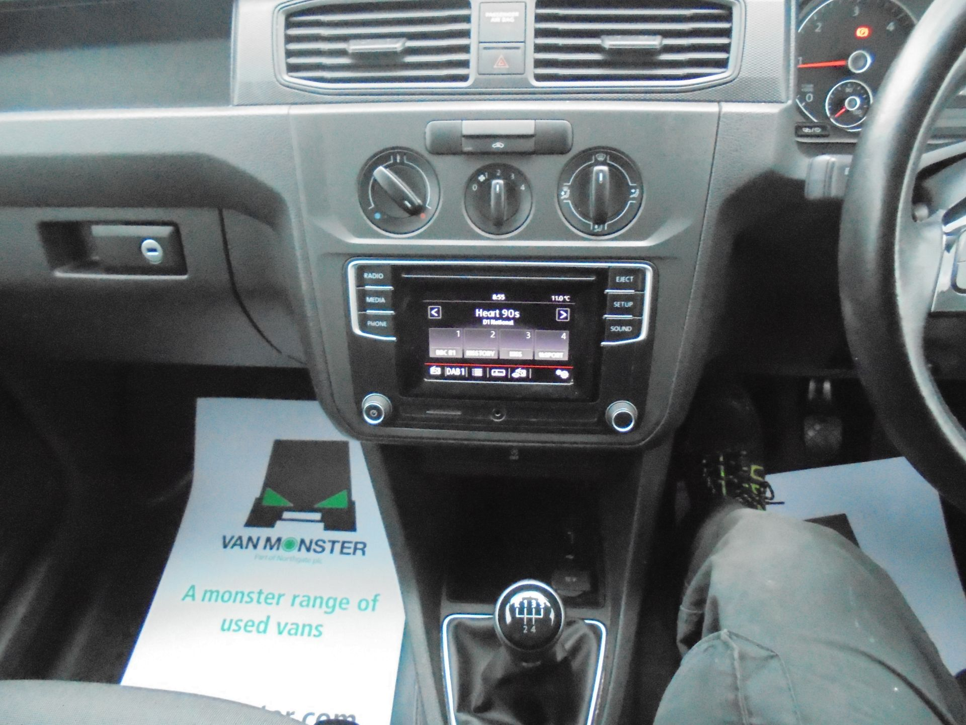 2018 Volkswagen Caddy 2.0 102PS BLUEMOTION TECH 102 STARTLINE EURO 6 (GH18EKB) Image 15