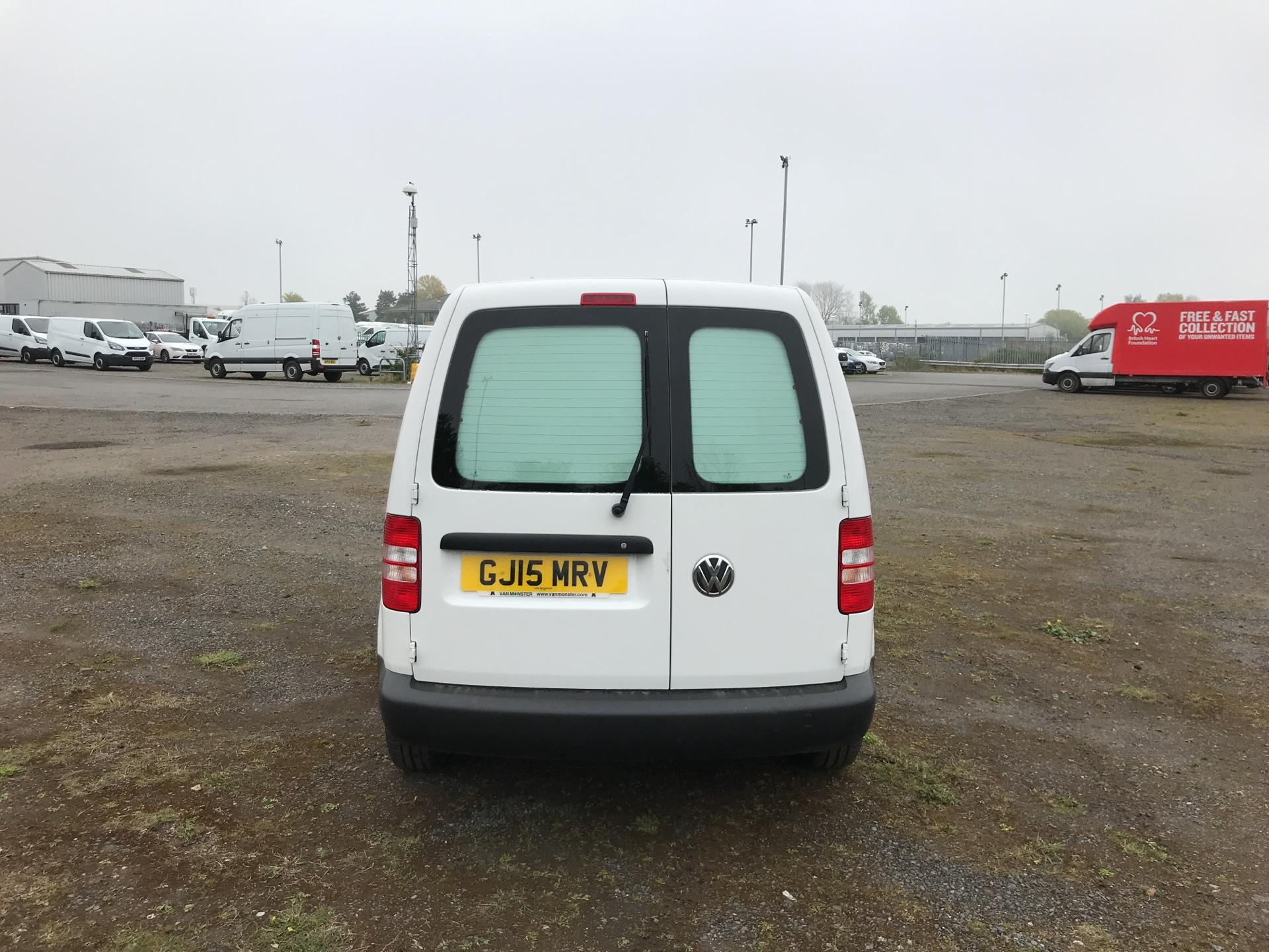 2015 Volkswagen Caddy  1.6 102PS STARTLINE EURO 5 (GJ15MRV) Image 4