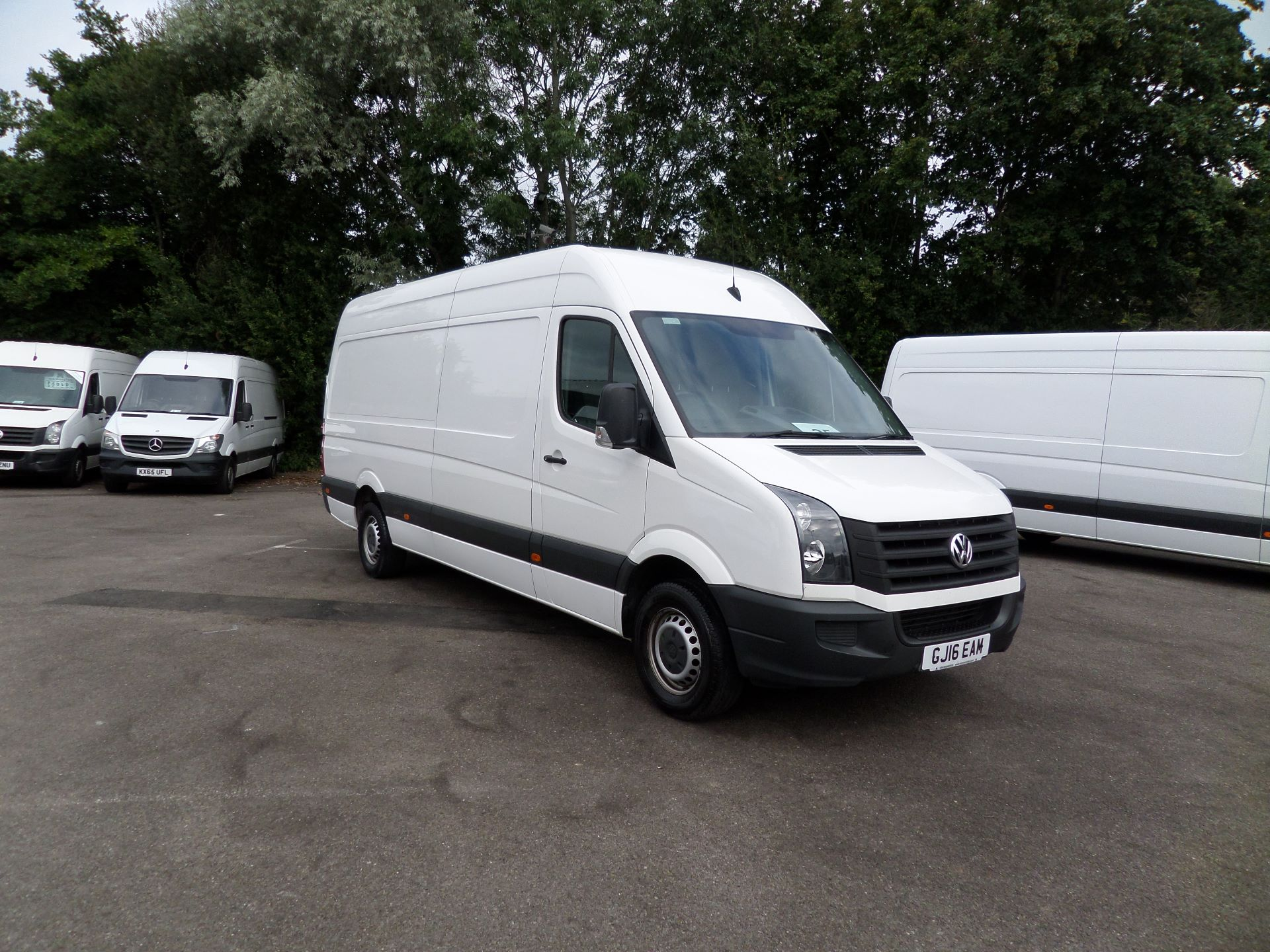 2016 Volkswagen Crafter  CR35 LWB 2.0 TDI 136PS HIGH ROOF EURO 5 (GJ16EAM)