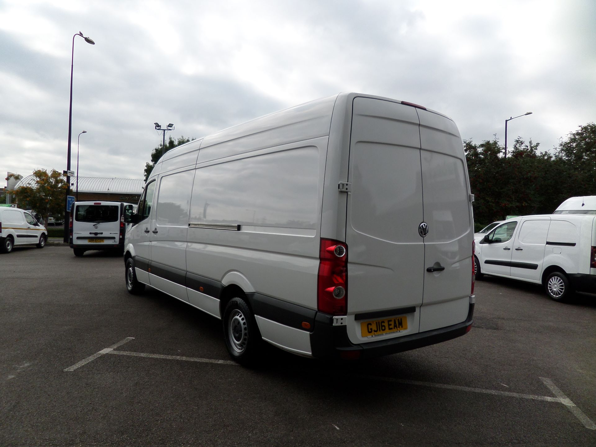2016 Volkswagen Crafter  CR35 LWB 2.0 TDI 136PS HIGH ROOF EURO 5 (GJ16EAM) Image 10