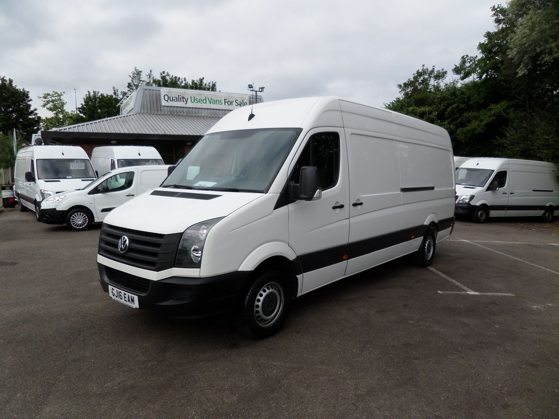 2016 Volkswagen Crafter  CR35 LWB 2.0 TDI 136PS HIGH ROOF EURO 5 (GJ16EAM) Image 13