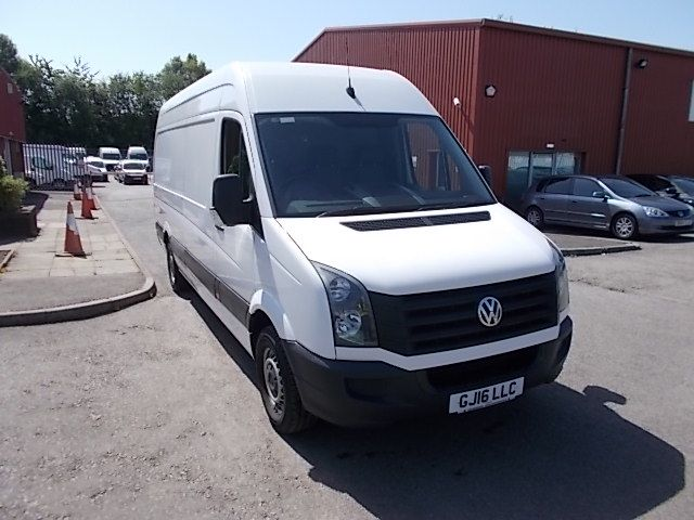 2016 Volkswagen Crafter  CR35 LWB 2.0 TDI 136PS HIGH ROOF EURO 5 (GJ16LLC)