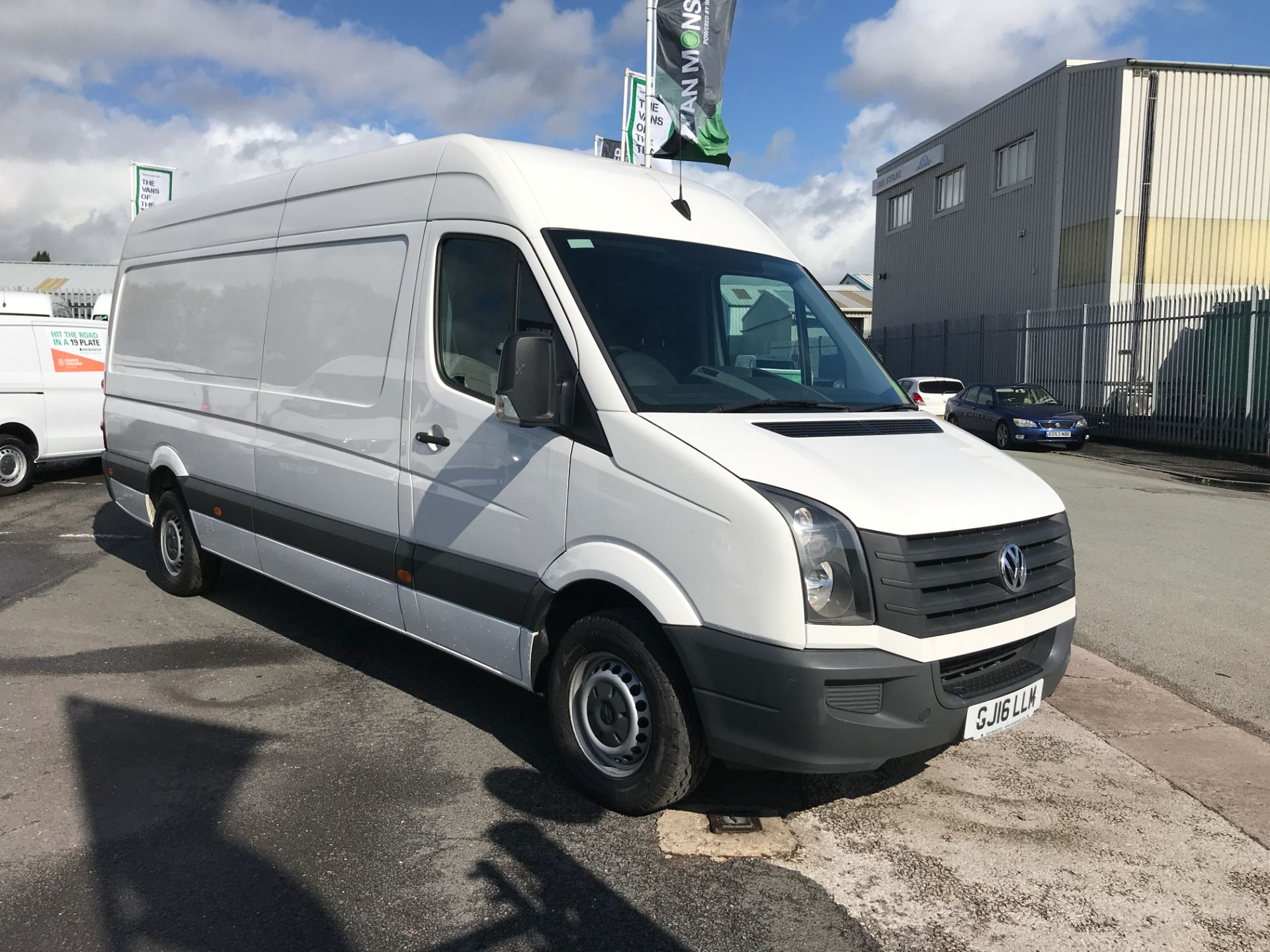 2016 Volkswagen Crafter  CR35 LWB HIGH ROOF 2.0TDI 136PS EURO 5 (GJ16LLM)