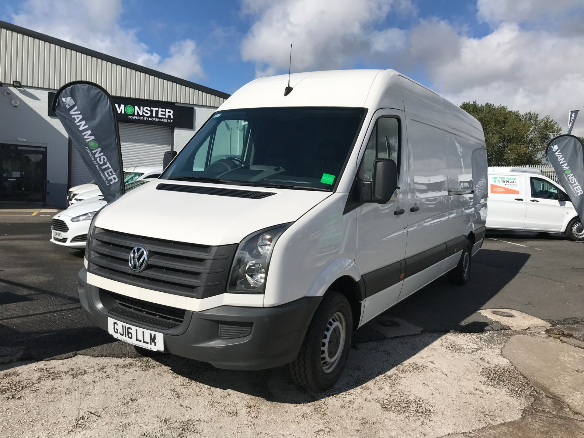 2016 Volkswagen Crafter  CR35 LWB HIGH ROOF 2.0TDI 136PS EURO 5 (GJ16LLM) Image 13