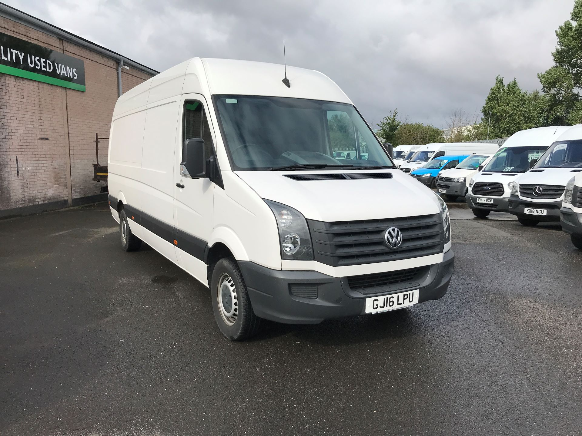 2016 Volkswagen Crafter  CR35 LWB 2.0 TDI 136PS HIGH ROOF EURO 5 (GJ16LPU)