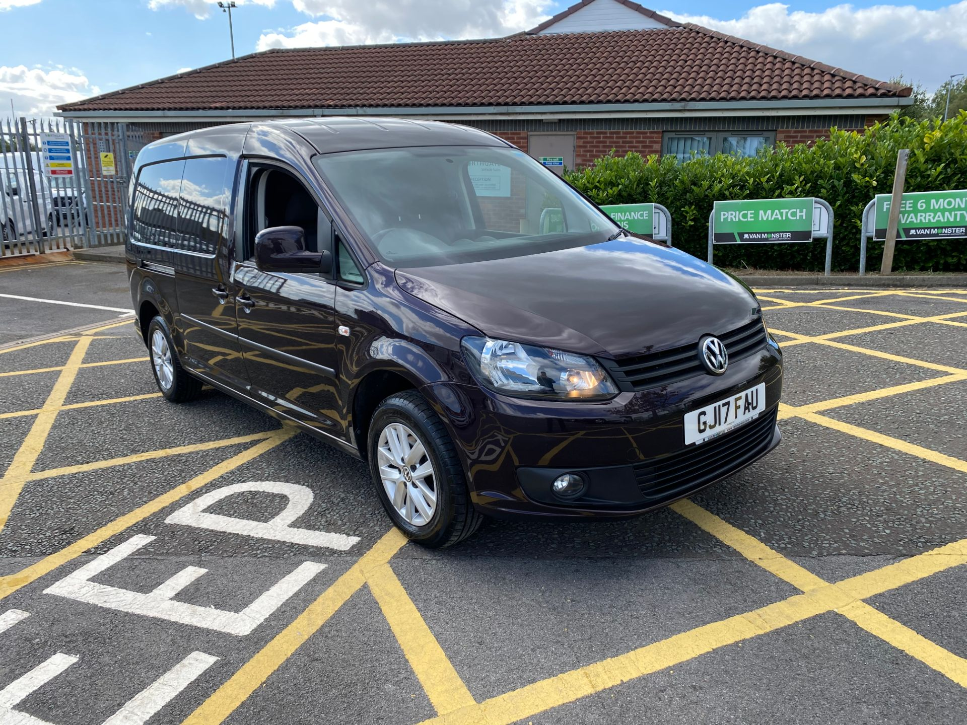 2017 Volkswagen Caddy 1.6 Tdi 102Ps Highline Van (GJ17FAU)