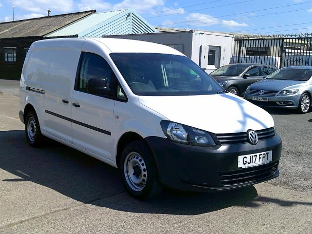 2017 Volkswagen Caddy Maxi 1.6 102PS STARTLINE EURO 5 * SPEED RESTRICTED TO 70 MPH* (GJ17FPT)
