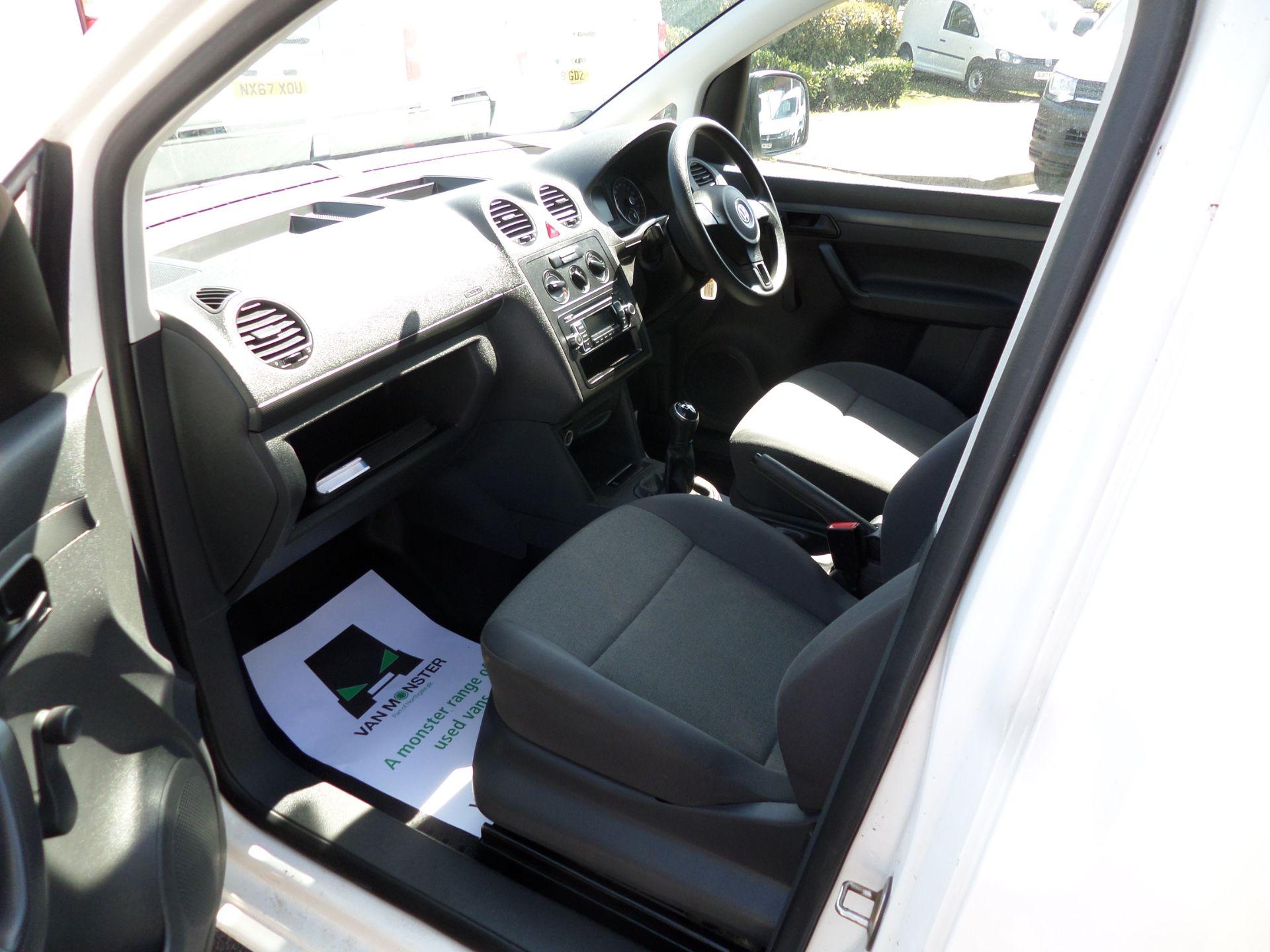 2017 Volkswagen Caddy Maxi 1.6 Tdi 102Ps Startline Van (GJ17FPZ) Image 9