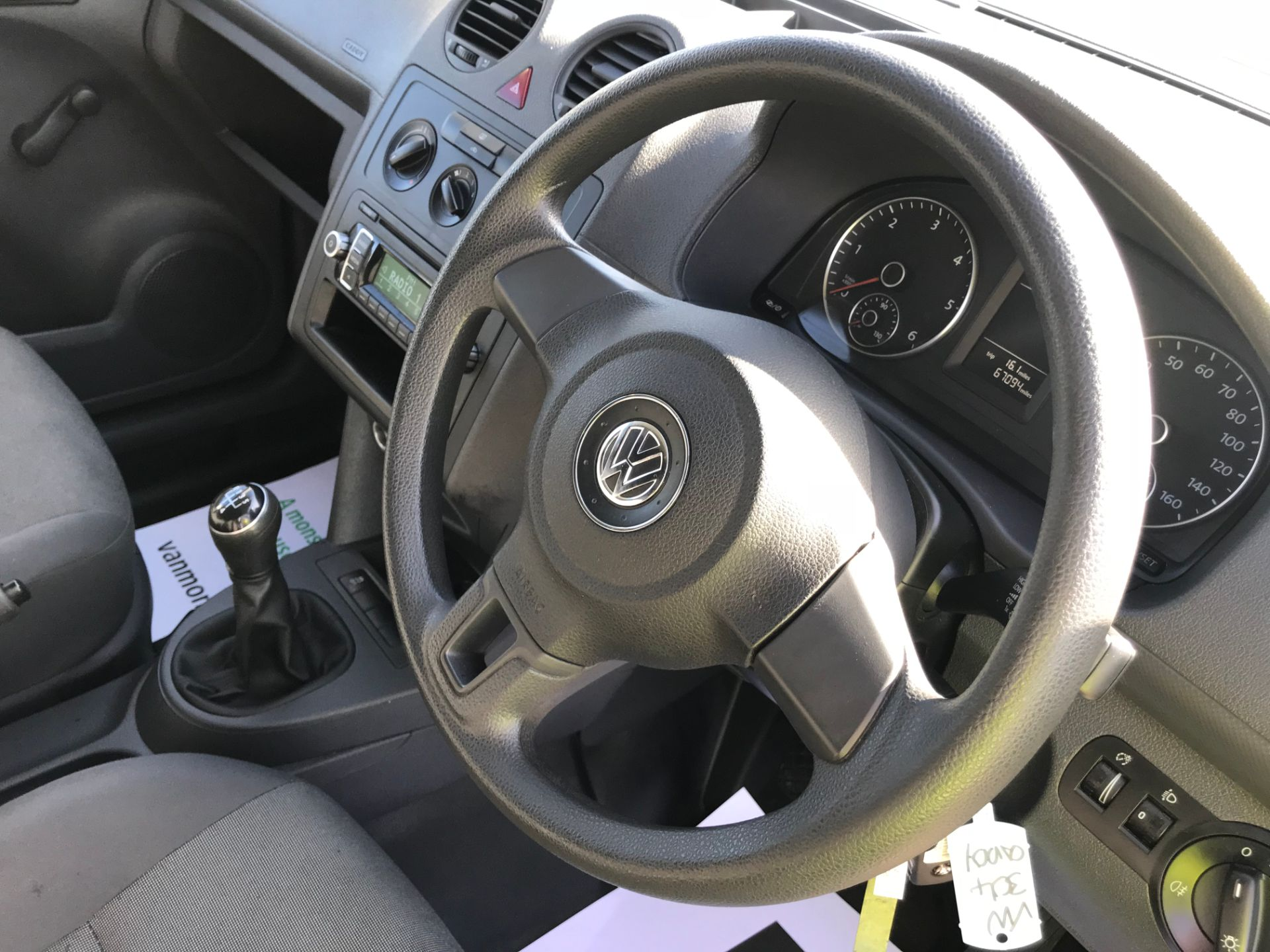 2017 Volkswagen Caddy 1.6 Tdi 75Ps Startline Van (GJ17OAV) Image 17