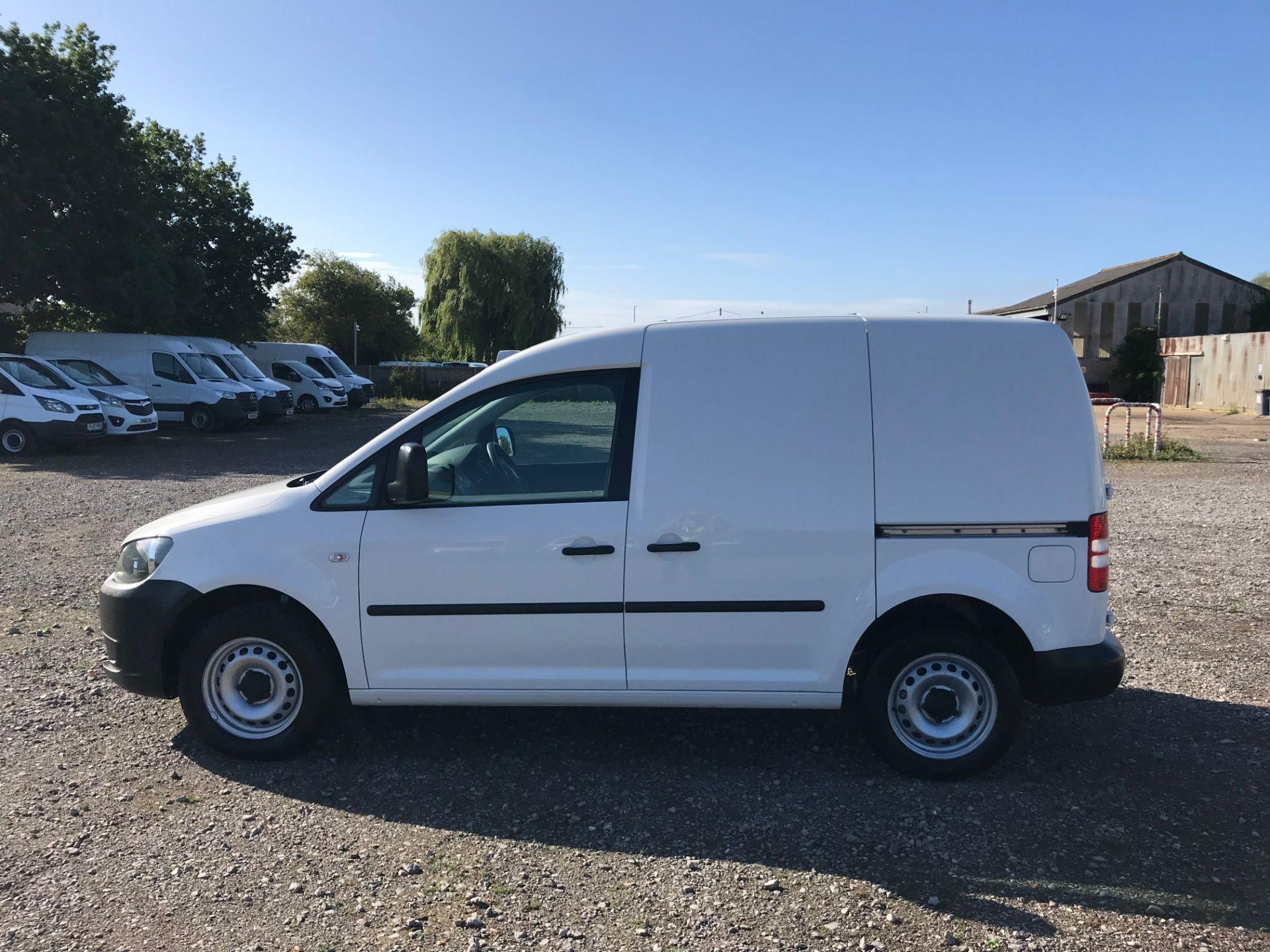 2017 Volkswagen Caddy 1.6 Tdi 75Ps Startline Van (GJ17OAV) Image 8