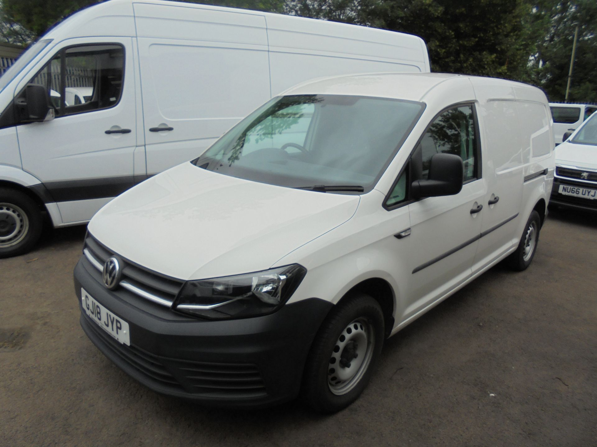 2018 Volkswagen Caddy Maxi 2.0 Tdi Bluemotion Tech 102Ps Startline Van (GJ18JYP) Image 10