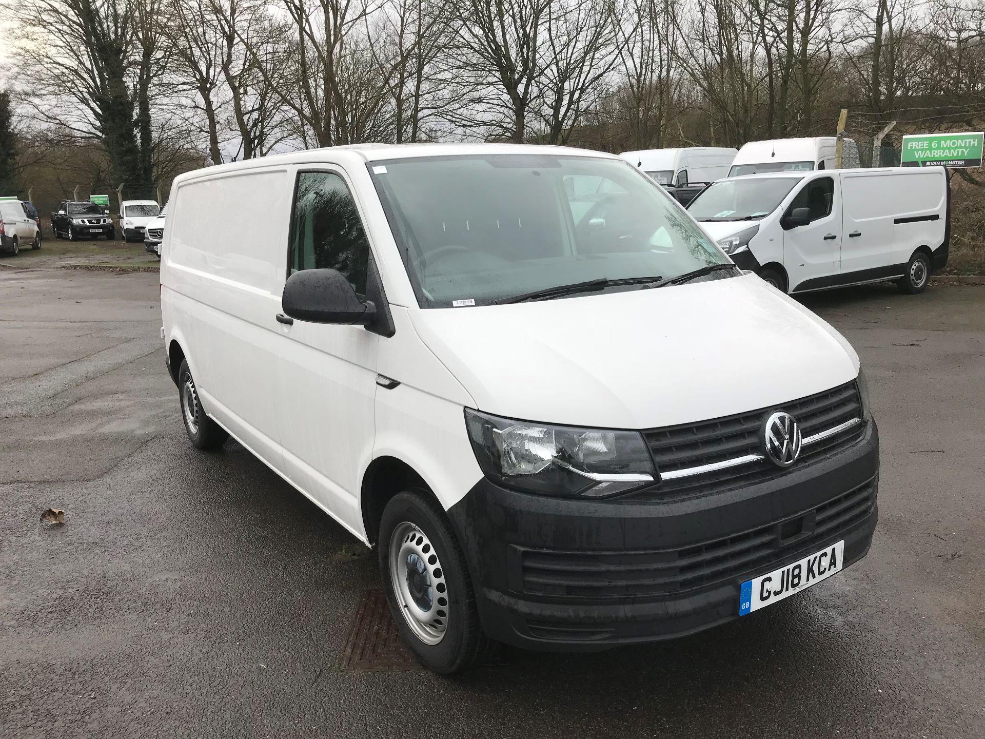 2018 Volkswagen Transporter 2.0 TDI BMT 102 STARTLINE LWB VAN EURO 6 (GJ18KCA)