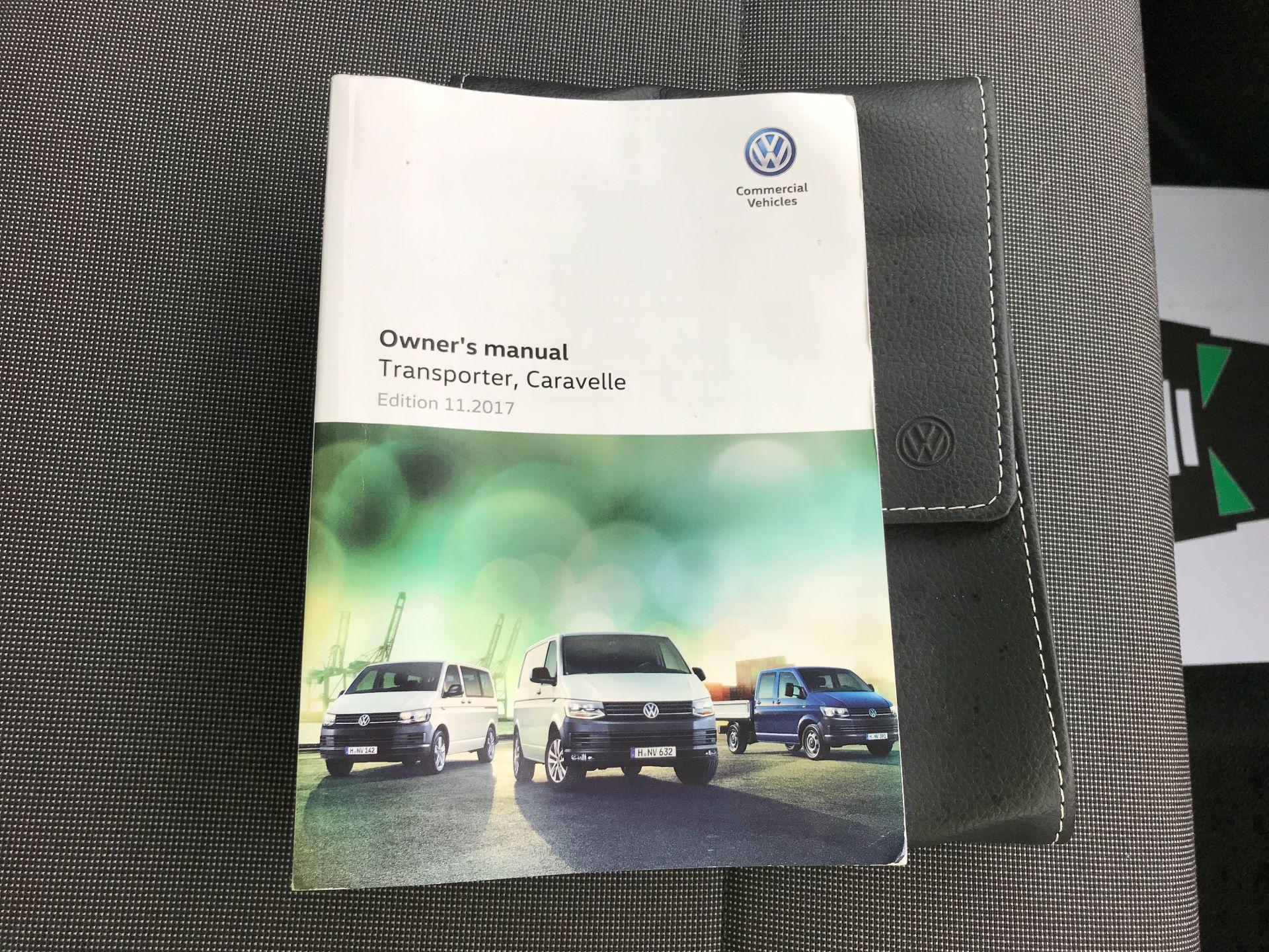 2018 Volkswagen Transporter T30 T6 LWB 2.0TDI BMT 102PS STARTLINE EURO 6 (GJ18KCZ) Image 24