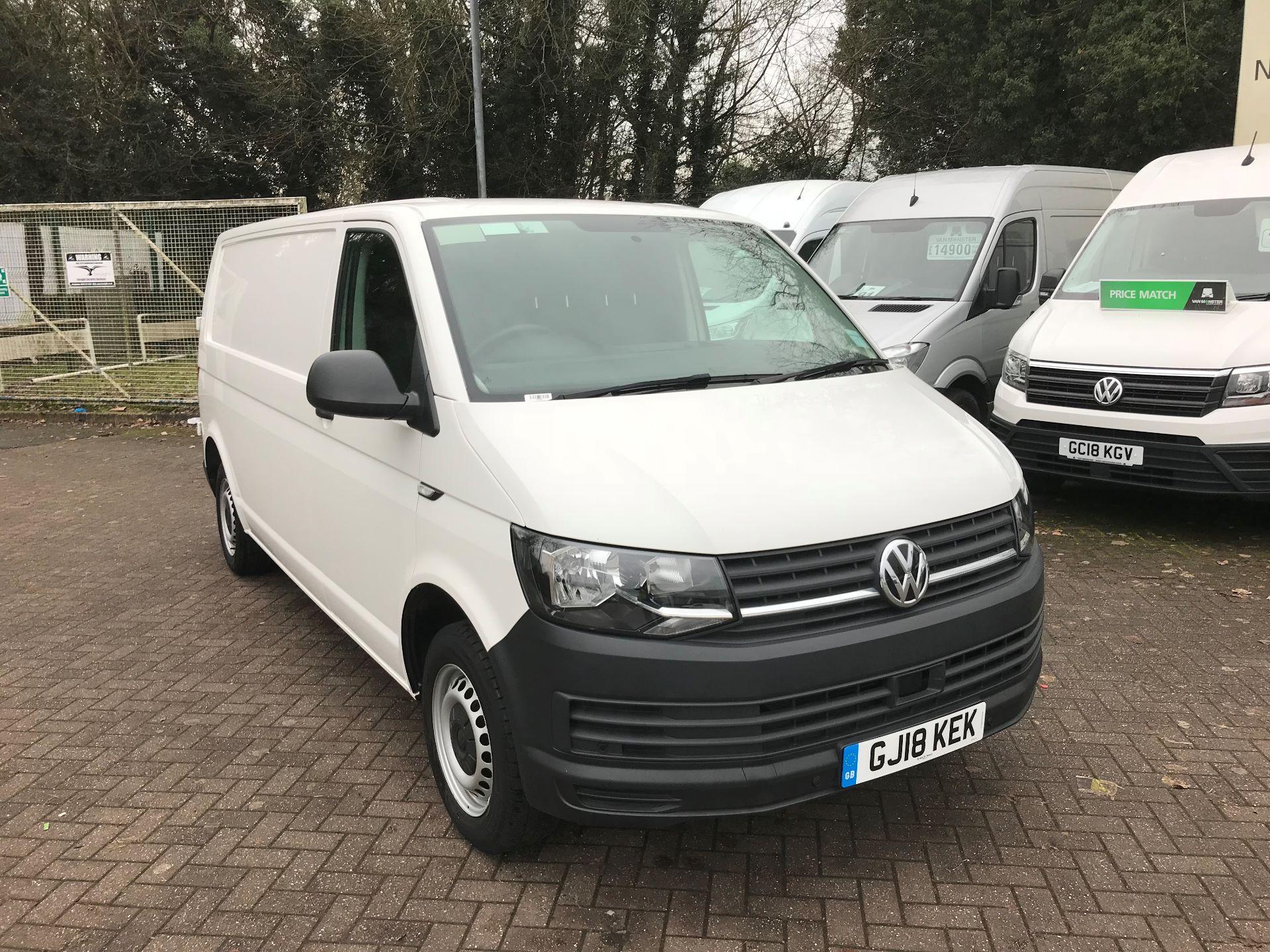 2018 Volkswagen Transporter T28 LWB DIESEL 2.0 TDI BMT 84 STARTLINE VAN EURO 6 (GJ18KEK)