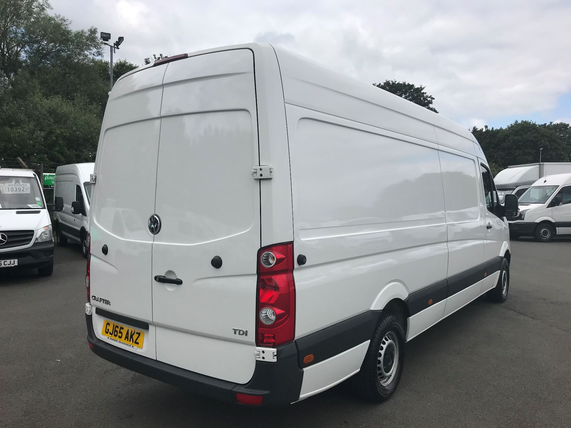 2015 Volkswagen Crafter  CR35 LWB 2.0 TDI 136PS HIGH ROOF EURO 5 (GJ65AKZ) Image 4