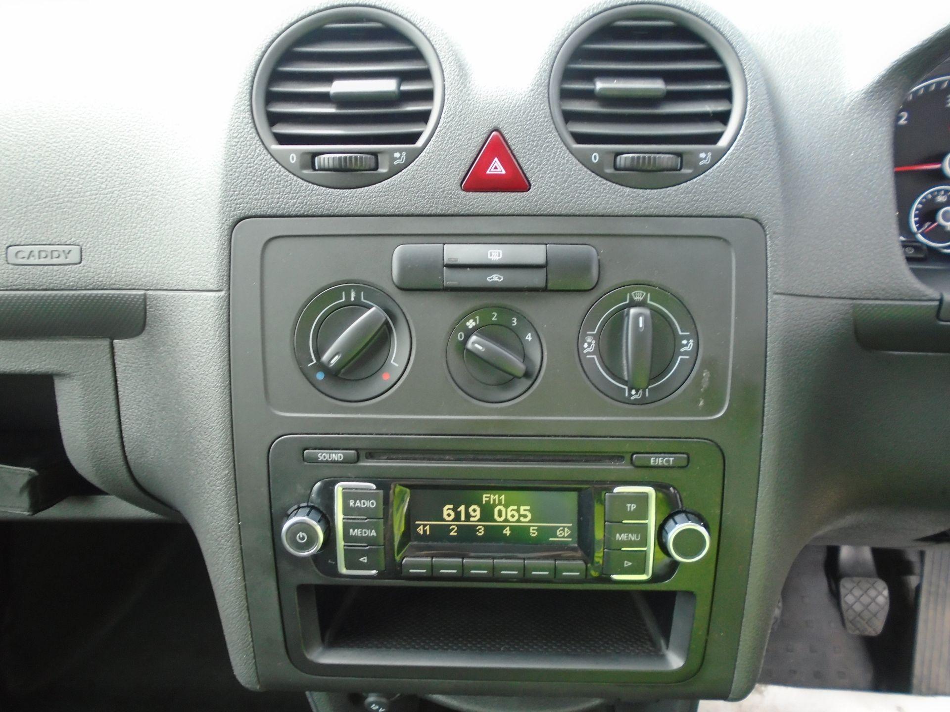 2015 Volkswagen Caddy 1.6 Tdi 102Ps Startline Van(EURO 5) (GJ65TLY) Image 10