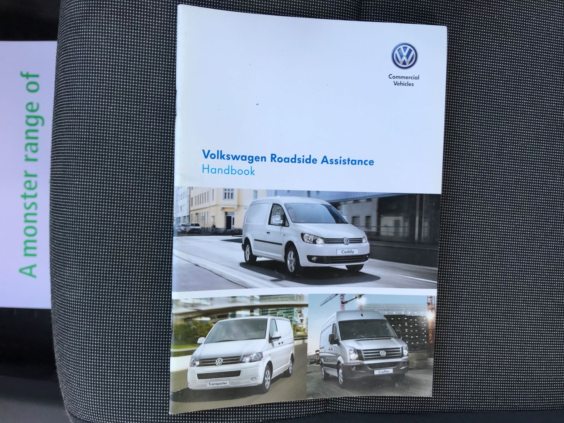 2015 Volkswagen Caddy  1.6 102PS STARTLINE EURO 5 (GJ65WMF) Image 36