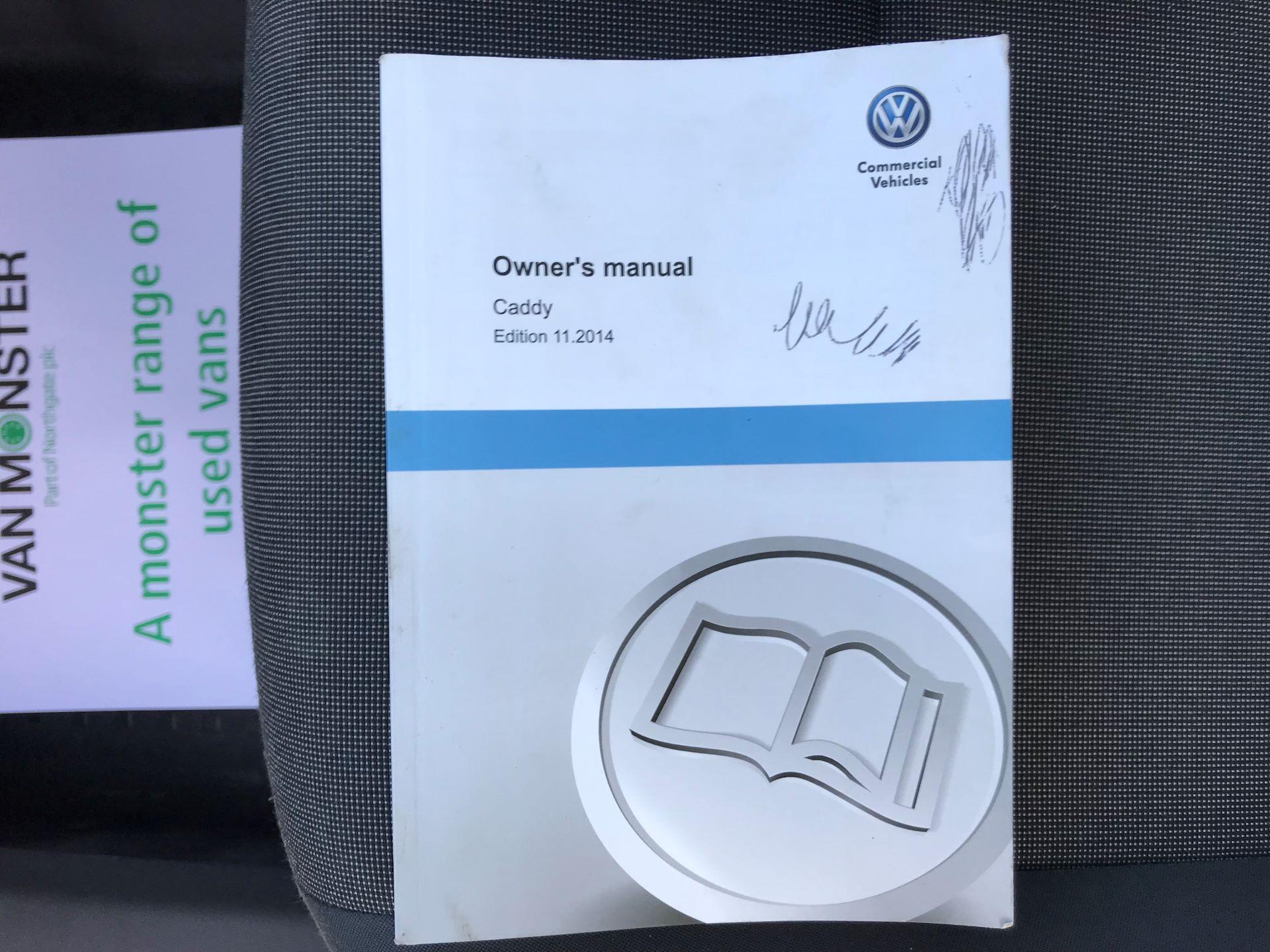 2015 Volkswagen Caddy  1.6 102PS STARTLINE EURO 5 (GJ65WMF) Image 35